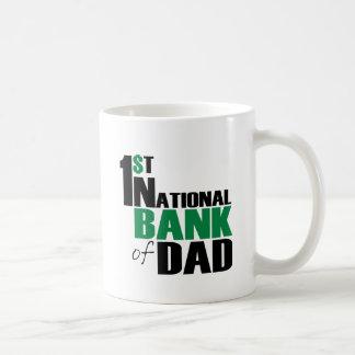 Banco del papá taza