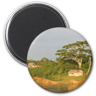 Banco del río Amazonas Imán Redondo 5 Cm