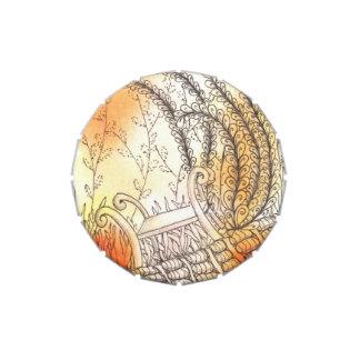 Banco del símbolo de Tarot Jarrones De Caramelos