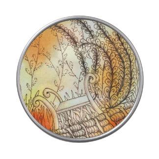 Banco del símbolo de Tarot Latas De Caramelos