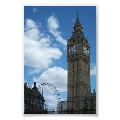 Banco del sur Londres Impresión Fotográfica