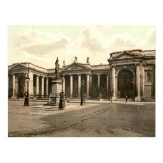 Banco en Dublín Tarjetas Postales