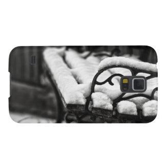 Banco en la nieve carcasa para galaxy s5