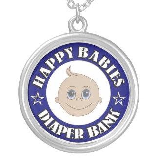Banco feliz del pañal de los bebés colgante redondo
