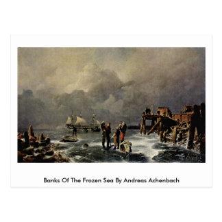 Bancos del mar congelado de Andreas Achenbach Postal