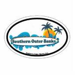 Bancos externos meridionales esculturas fotográficas