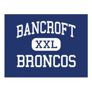 Bancroft Broncos Middle San Leandro Postcard