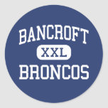 Bancroft Broncos Middle San Leandro Stickers