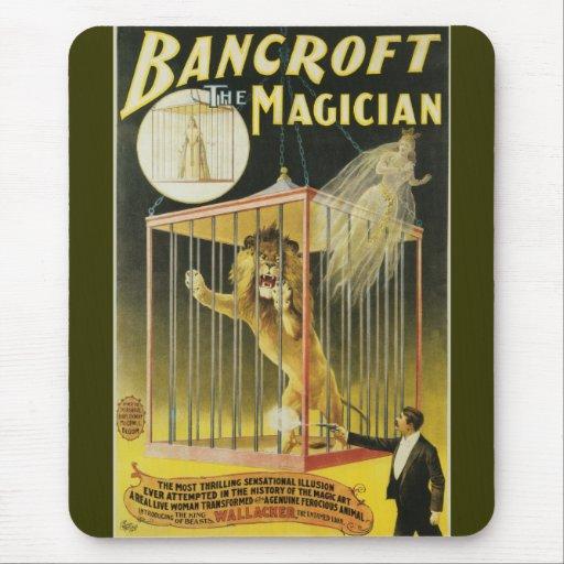Bancroft el mago c 1897 tapete de ratones