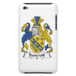 Bancroft Family Crest Barely There iPod Covers
