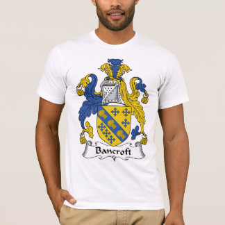 Bancroft Family Crest T-Shirt