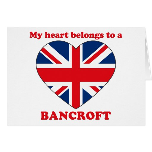 Bancroft Greeting Card