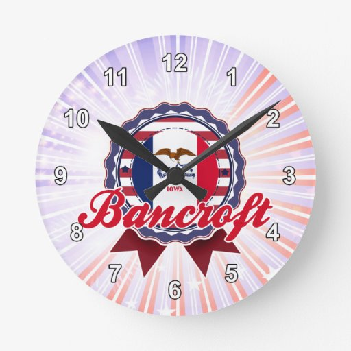 Bancroft, IA Relojes De Pared