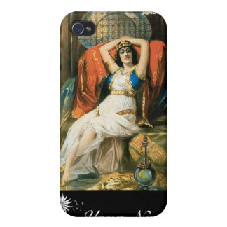 Bancroft ~ Prince of Magicians Vintage Magic Act iPhone 4/4S Case