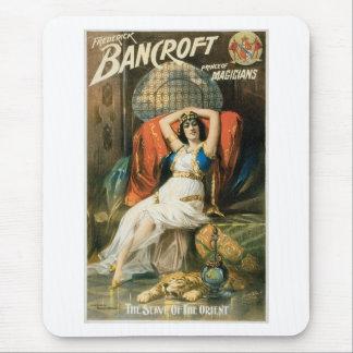 Bancroft ~ Prince of Magicians Vintage Magic Act Mouse Pad