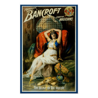 Bancroft ~ Slave of the Orient Poster