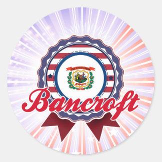 Bancroft, WV Pegatina Redonda