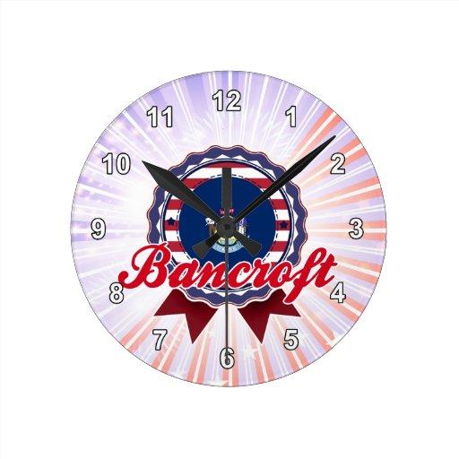 Bancroft, YO Reloj Redondo Mediano