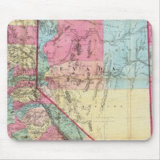 Bancroft's Map Of California, Nevada Mouse Pad