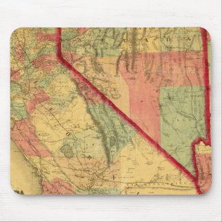 Bancroft's Map Of California, Nevada, Utah Mouse Pad