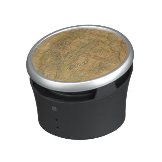 Bancroft's Map Of The Pacific States Bluetooth Speaker