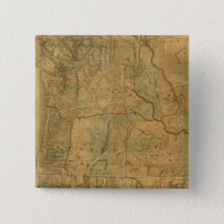 Bancroft's Map Of The Pacific States Button