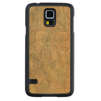 Bancroft's Map Of The Pacific States Carved® Maple Galaxy S5 Case