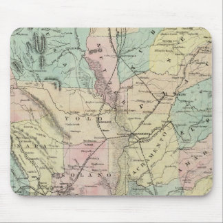 Bancroft's New Map Of Central California Mouse Pad