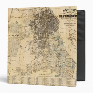 Bancroft's official Guide Map of San Francisco 3 Ring Binder