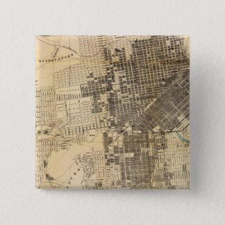 Bancroft's official Guide Map of San Francisco Button