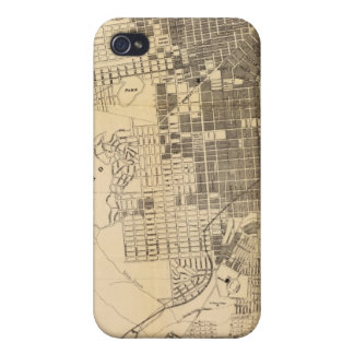 Bancroft's official Guide Map of San Francisco iPhone 4/4S Case