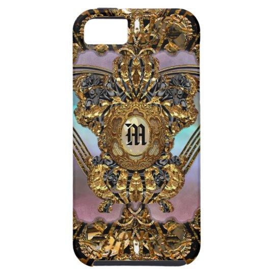 Bancroftyne Drama Girl Damask iPhone SE/5/5s Case