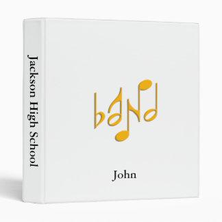 band 3 ring binder