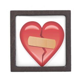 Band Aid Heart Keepsake Box