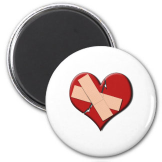 Band Aid Heat 2 Inch Round Magnet