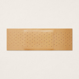 band aid insurance business card
