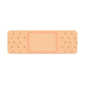 Band-Aid Custom Return Address Labels