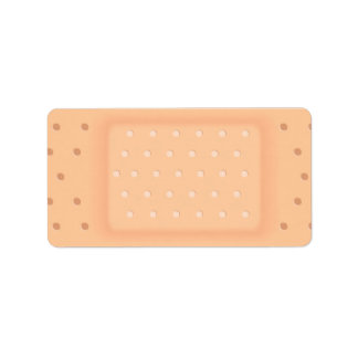 Band Aid Personalized Address Labels