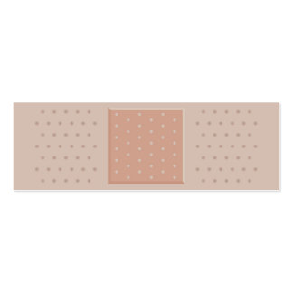 Band-Aid Plaster Medical Skinny Business Card