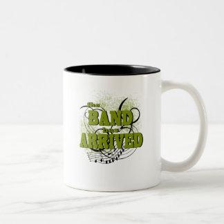Band Arrived/ Gold Two-Tone Coffee Mug