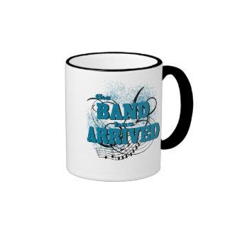 Band Arrived/ Teal Ringer Coffee Mug