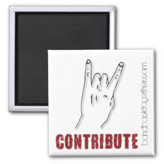 Band Back Together Contribute Magnet