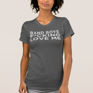 Band Boys F'ing Love Me Racerback Tank