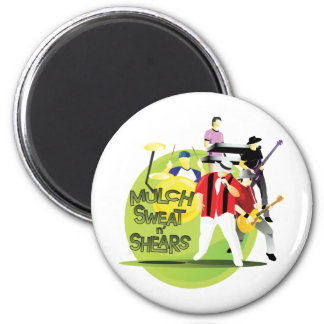 Band Button - pick your size 2 Inch Round Magnet