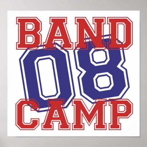 Band Camp 08 Print
