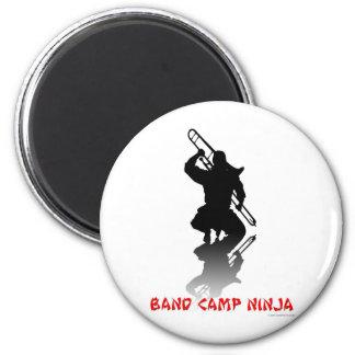 Band Camp Ninja 2 Inch Round Magnet