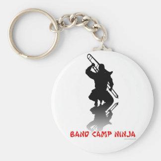 Band Camp Ninja Basic Round Button Keychain