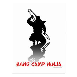 Band Camp Ninja Postcard