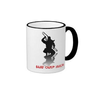 Band Camp Ninja Ringer Coffee Mug