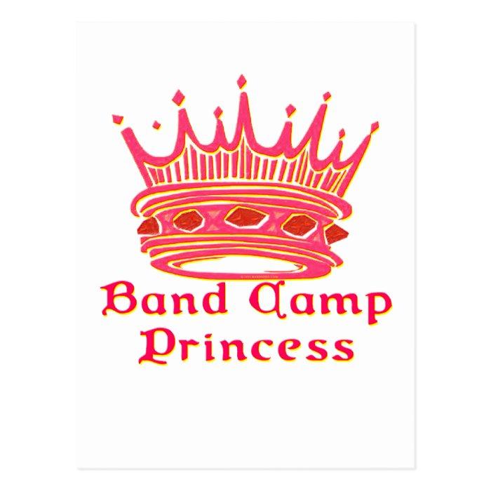 Band Camp Princess Postcard